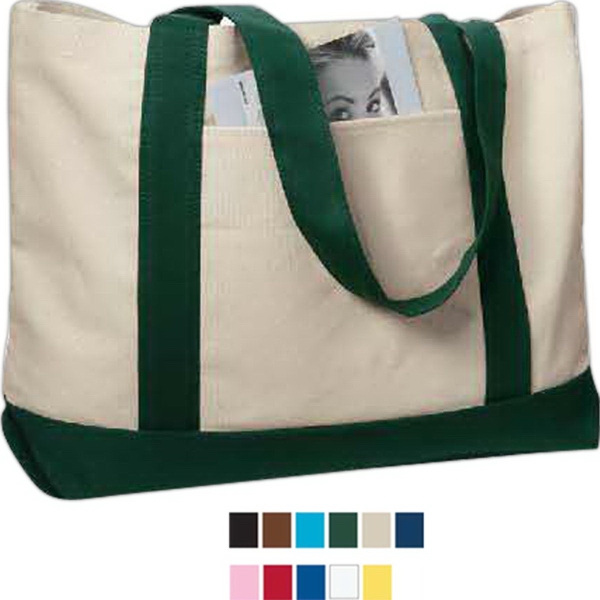 Imprinted Liberty Bags Leeward Cotton Canvas Tote