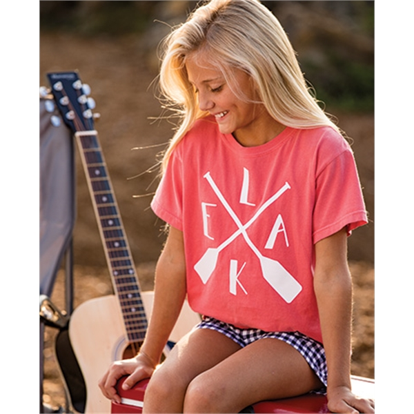 Personalized Comfort Colors Youth Short sleeve tee