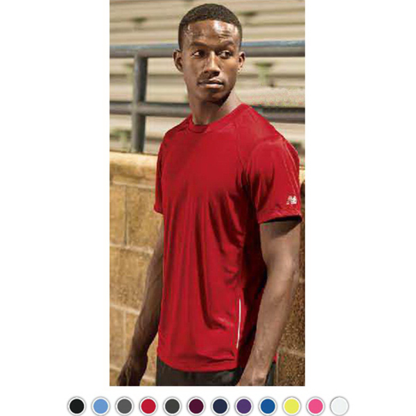 Promotional New Balance Tempo Men's Performance T-Shirt