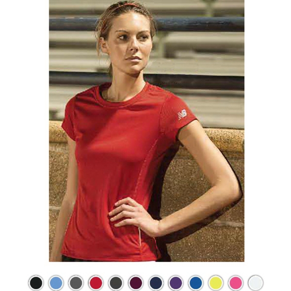 Custom New Balance Tempo Ladies' Performance T-Shirt