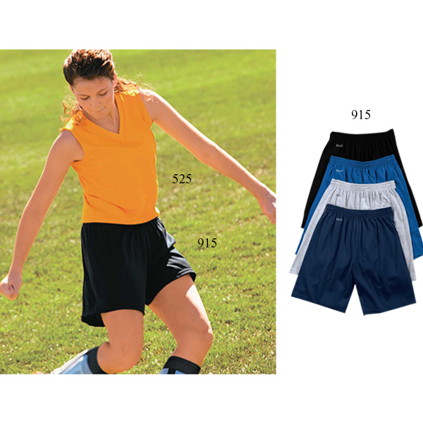 Customized Youth size longer length jersey shorts