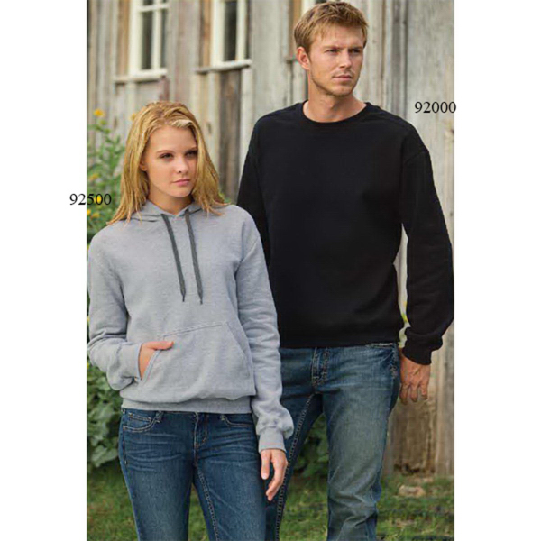 Printed Gildan (R) Premium Cotton Ringspun Fleece Crew