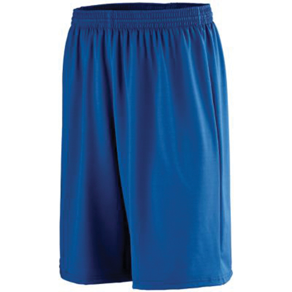 Promotional Youth longer length poly / spandex shorts