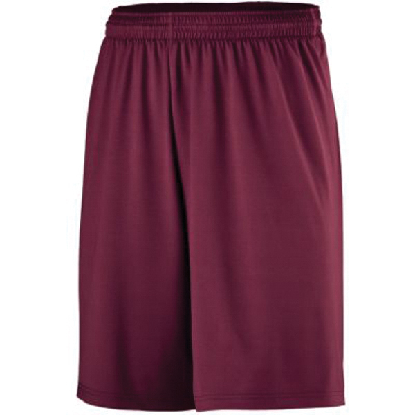 Custom Youth antimicrobial poly / spandex shorts
