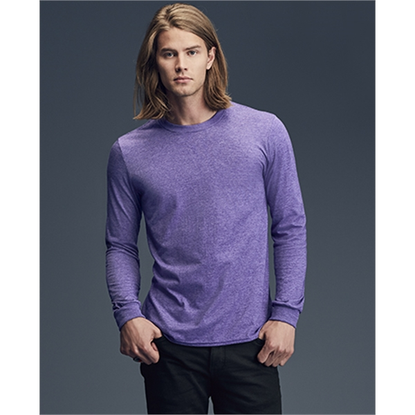 Imprinted Anvil Long Sleeve Fashion Fit Tee
