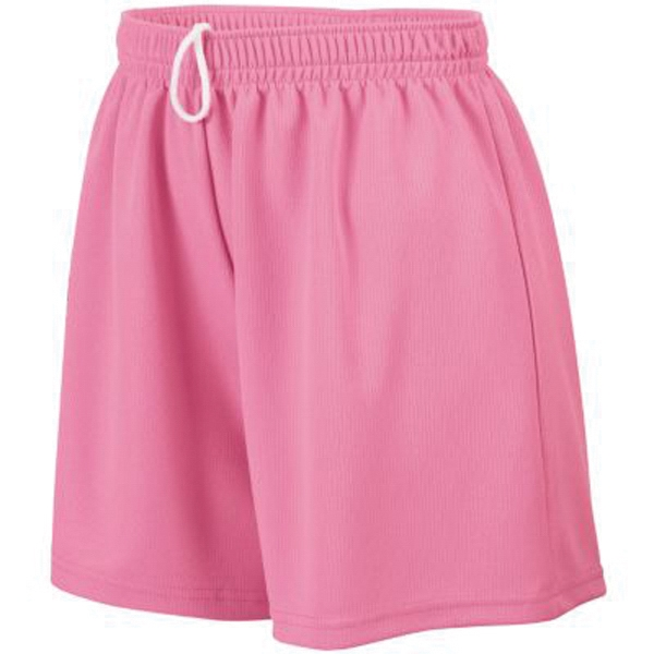 Customized Girls wicking mesh shorts