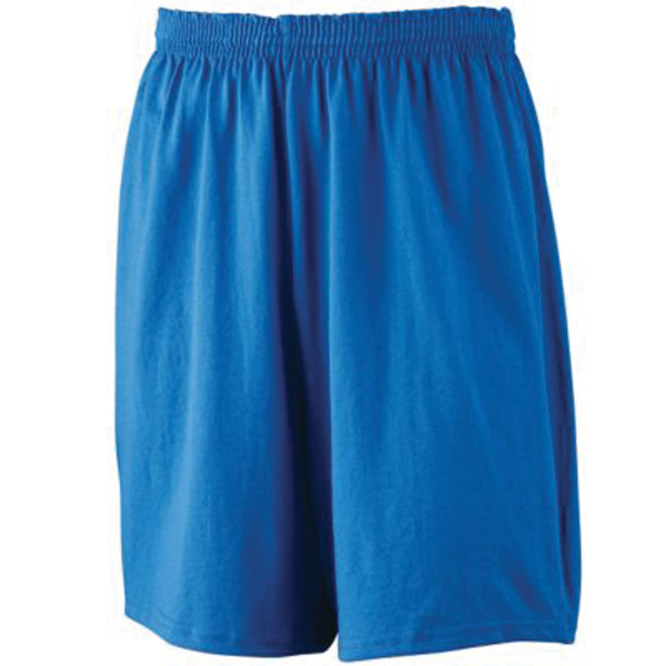 Custom Youth athletic jersey shorts with inside drawcord