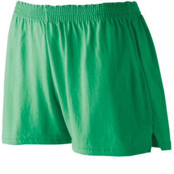 Promotional Girls' trim fit jersey shorts