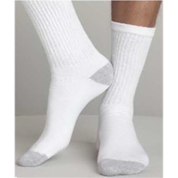 Imprinted Gildan Men's Crew Socks