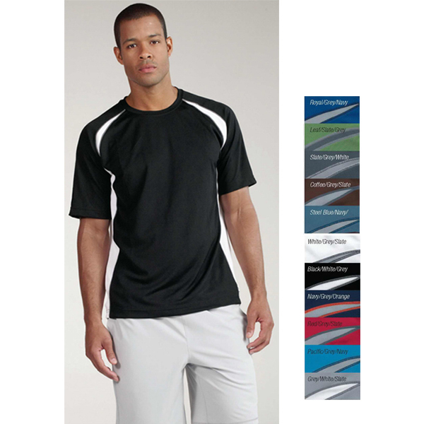 Promotional Alo Men's colorblock crew