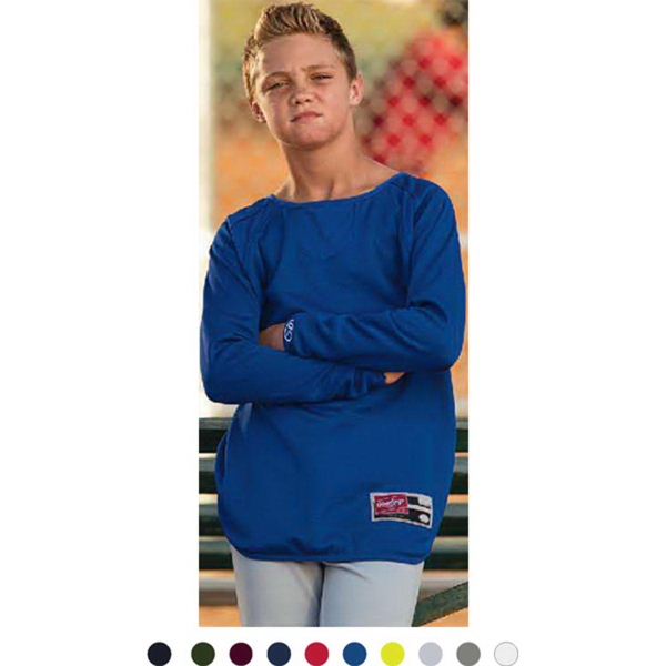 Promotional Rawlings Youth Warm Up Fleece Pullover
