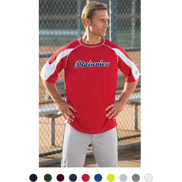 Customized Rawlings Contrast Baseball Tee