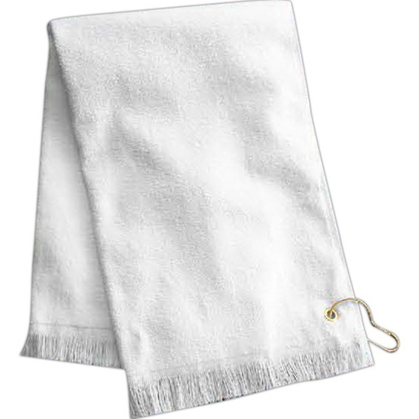 Personalized Towel Plus (R) by Anvil Fringed Hand Towel