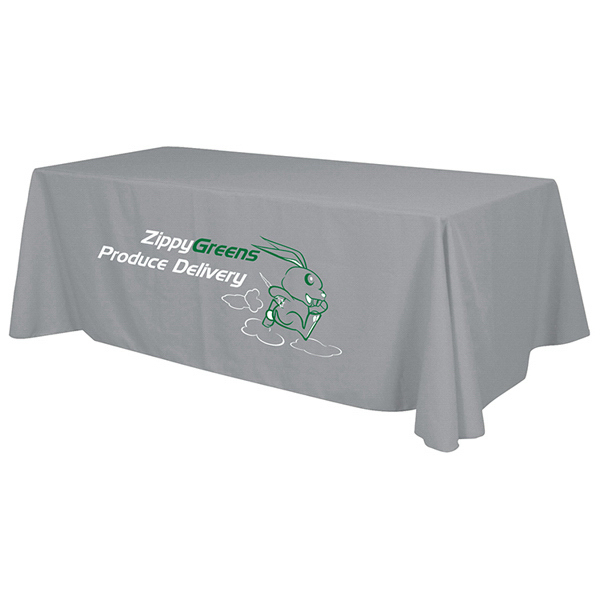Printed Economy Table Throw