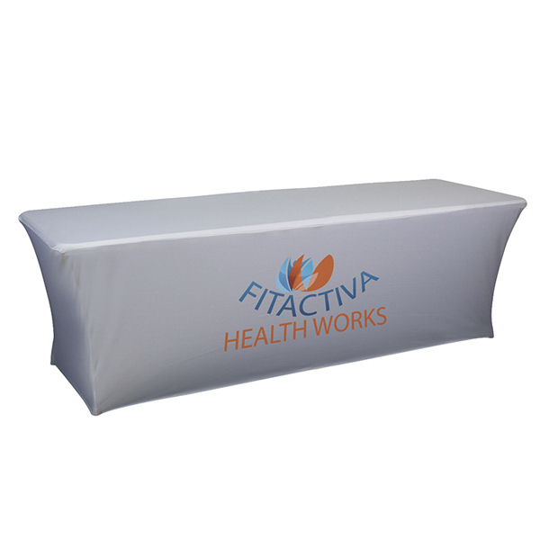 Promotional UltraFit Curve Table Throw
