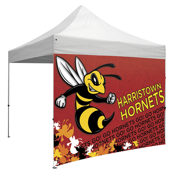 Custom ShowStopper Tent Full Wall with Zippered Sides