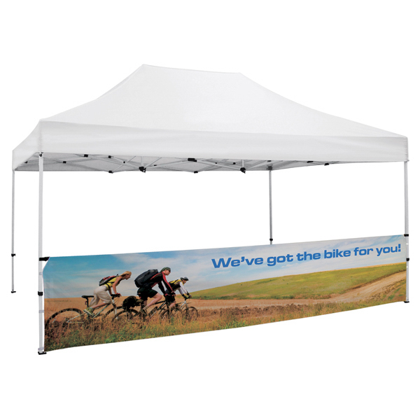 Printed ShowStopper Deluxe 15' Tent Half Wall Kit
