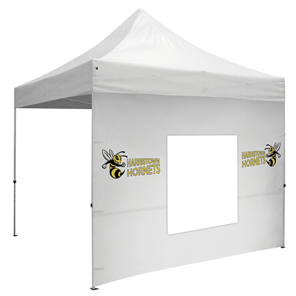 Custom ShowStopper Tent 10' Window Wall with Zippered Sides