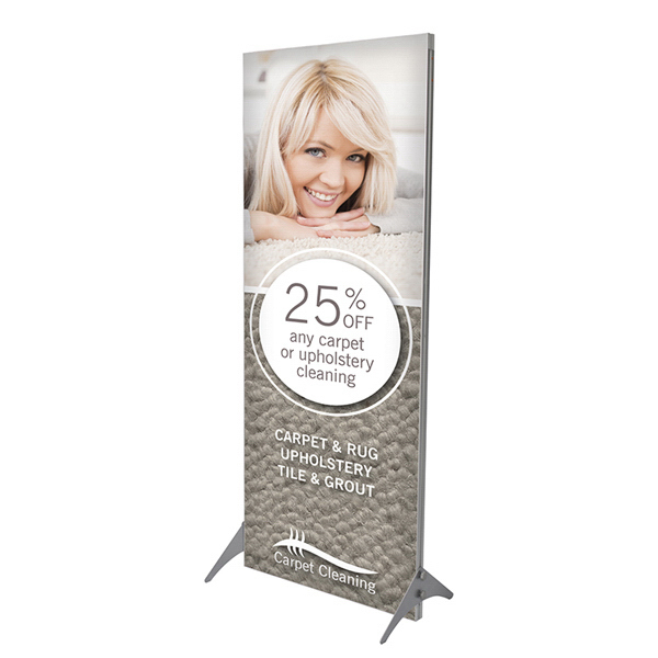 Printed Impress Fabric Display Kit - Single-Sided