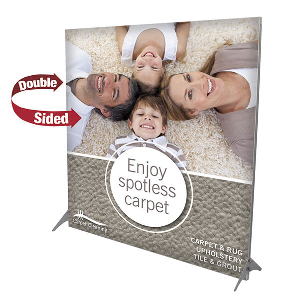 Personalized Impress Fabric Display Kit - Double-Sided