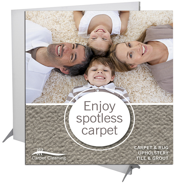 Imprinted Impress Fabric Display (Graphic Only)