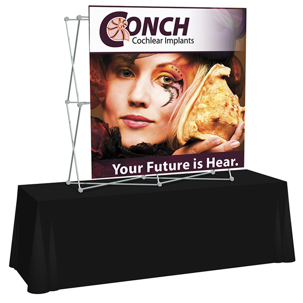 Printed Splash Straight Table Top Graphic Only