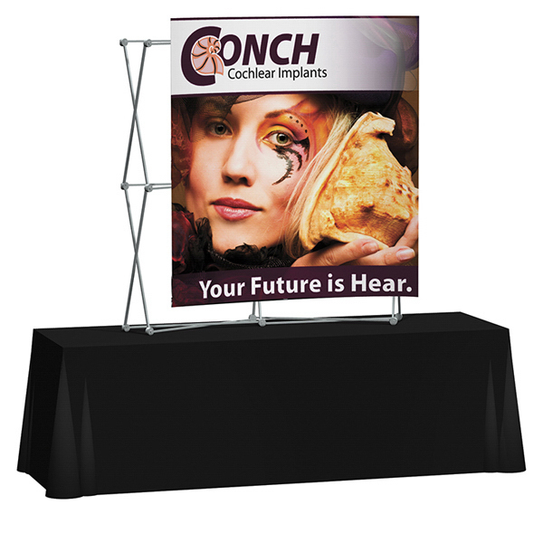 Personalized Splash Curved Table Top Graphic Only