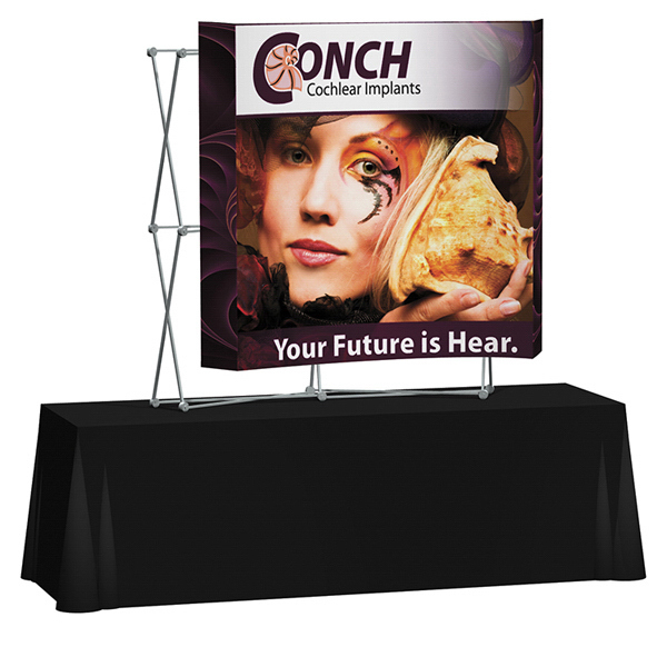 Printed Splash Curved Table Top Graphic Only