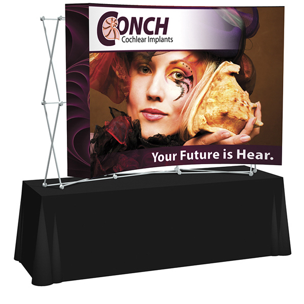 Promotional Splash Curved Table Top Graphic Only