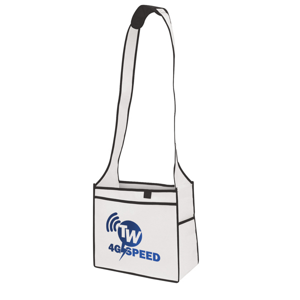 Personalized Quick Ship Esprit Tradeshow Tote 1-Color Screen Print