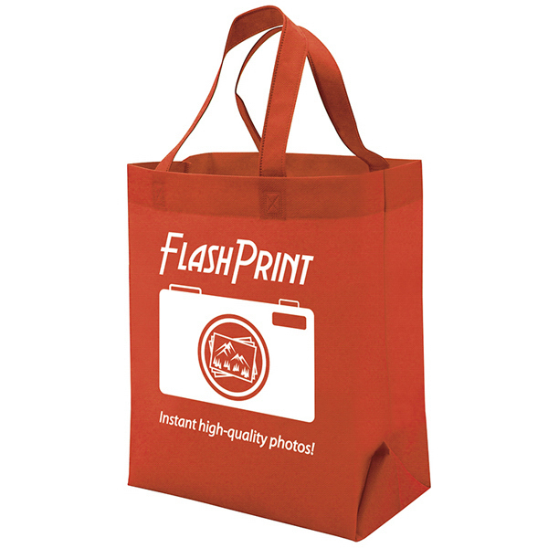Customized Quick Ship Value Tote 1-Color Screen Print