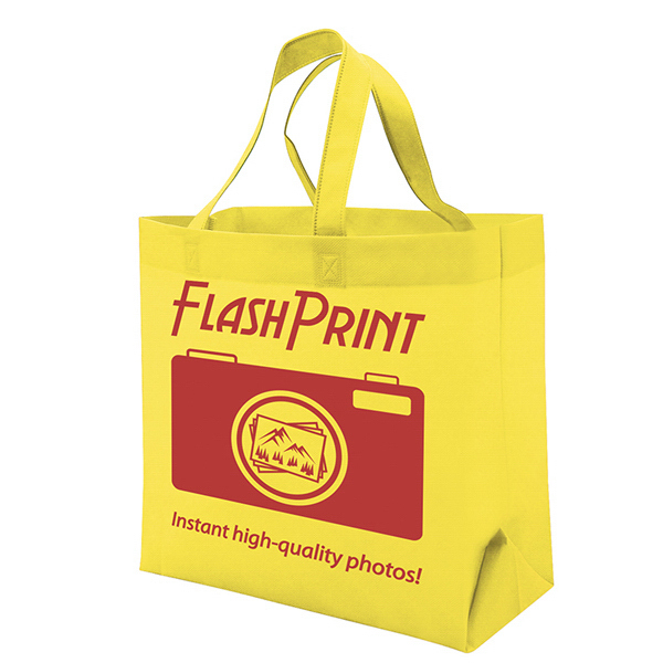 Imprinted Quick Ship Value Tote 1-Color Screen Print