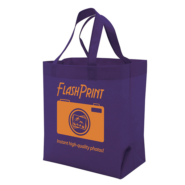 Custom Quick Ship Value Tote 1-Color Screen Print