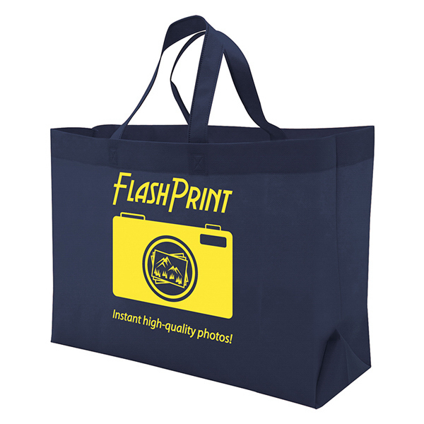 Promotional Quick Ship Value Tote 1-Color Screen Print