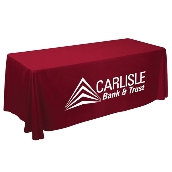 Imprinted Value Lite Table Throw