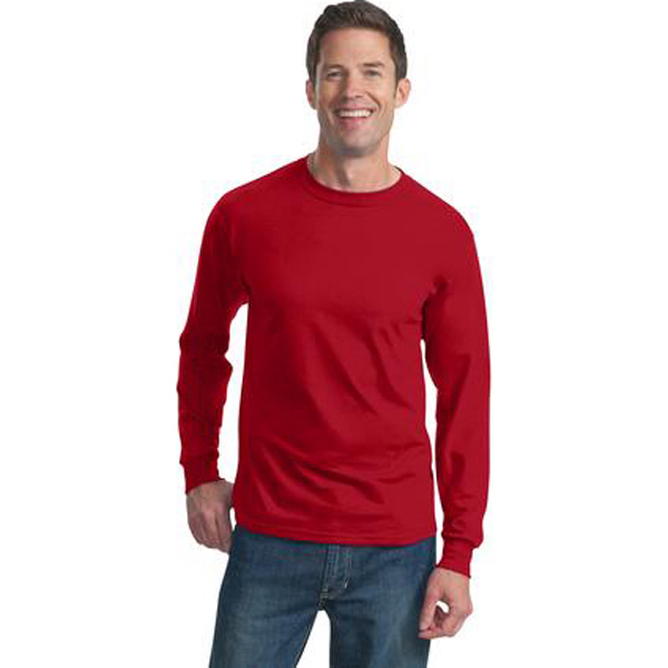 Imprinted Fruit of the Loom (R) Heavy Cotton Long Sleeve T-Shirt