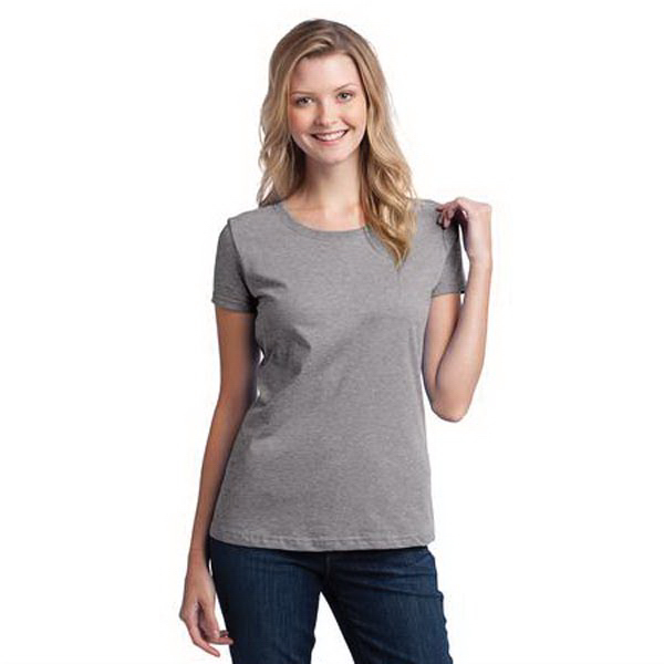 Printed Fruit of the Loom (R) Ladies' Heavy Cotton T-Shirt