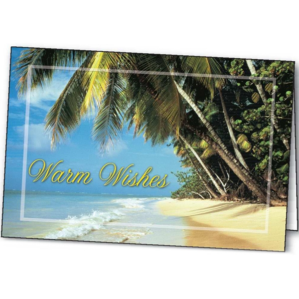 Customized Warm Wishes greeting card
