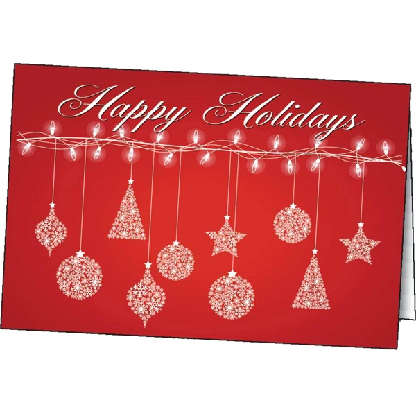 Customized Deck the Halls greeting card