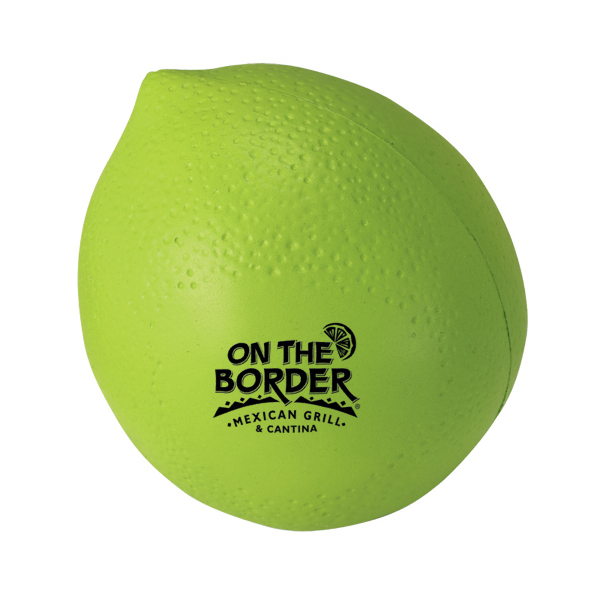 Printed Lime Stress Reliever