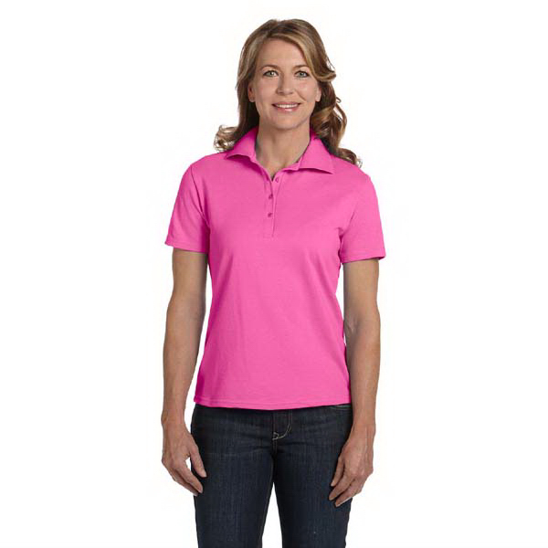 Promotional Ladies' 7 oz. Cotton Pique Polo