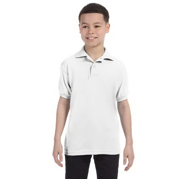 Customized Youth 5.5 oz. 50/50 Jersey Knit Polo