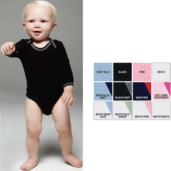 Promotional Infant 4.5 oz. Long Sleeve Thermal One Piece