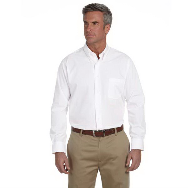 Promotional Men's Solid Silky Poplin