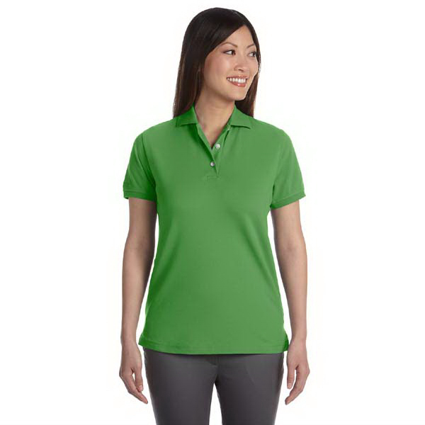 Imprinted Ladies' Silk Wash Pique Polo