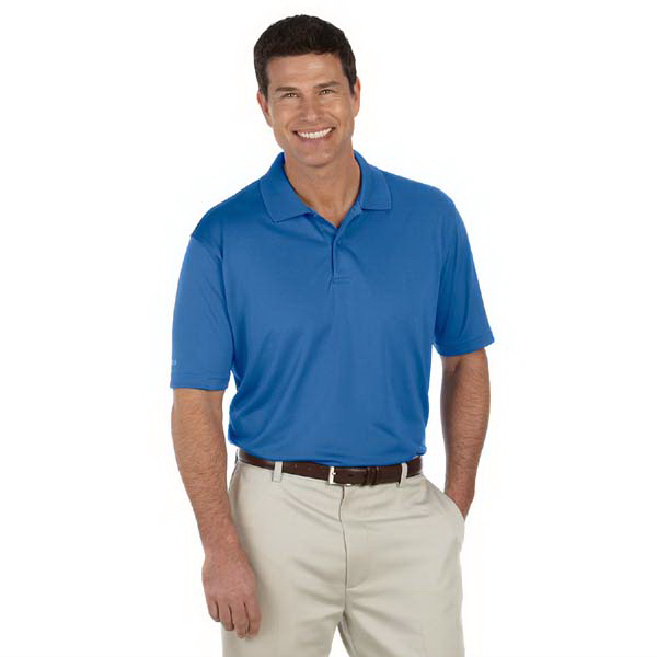 Imprinted Men's Performance Golf Pique Polo