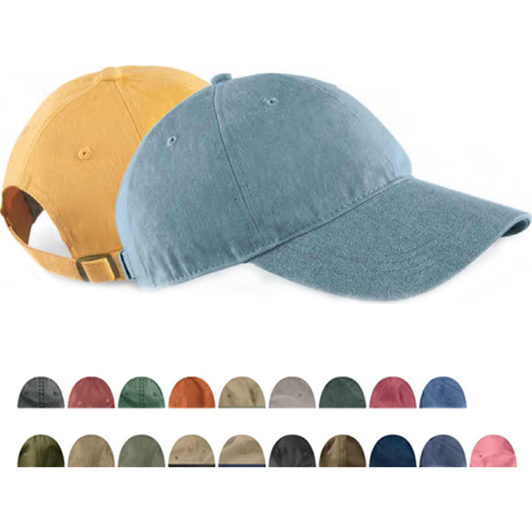Custom Pigment Dyed Baseball Cap