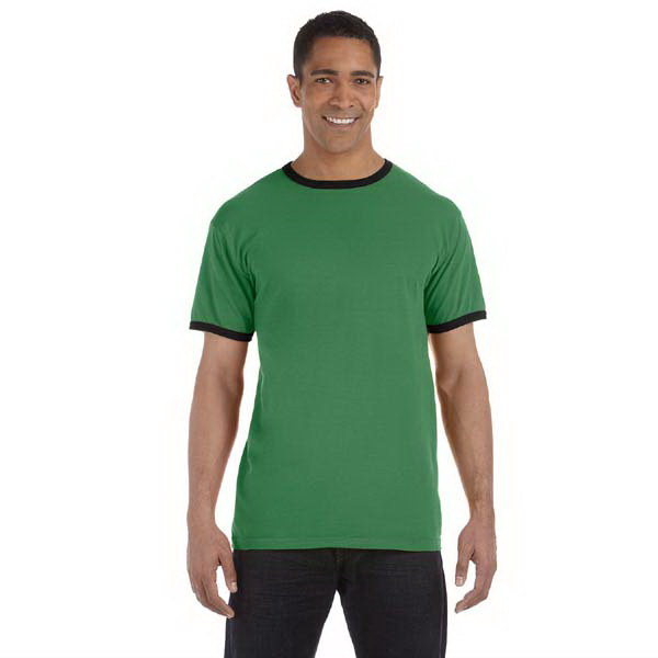 Personalized Authentic Pigment 5.6 oz Pigment-Dyed Ringer T-Shirt
