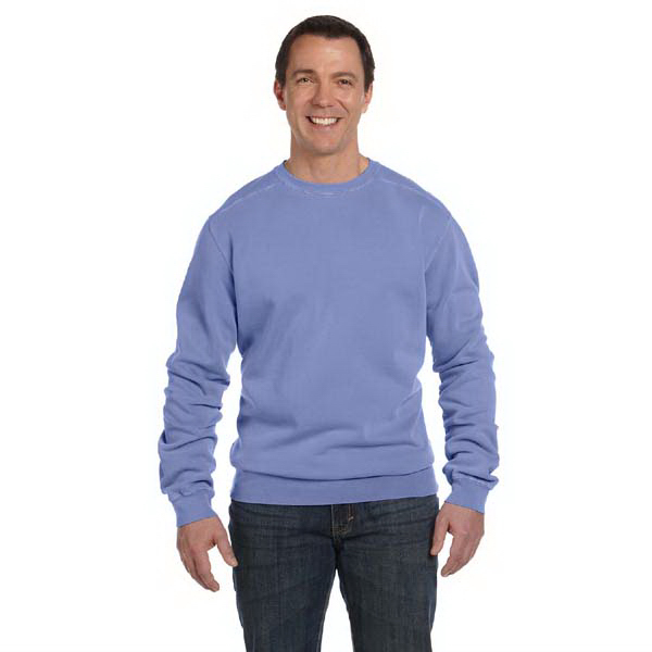 Personalized Authentic Pigment 11 oz. Pigment Dyed Fleece Crew