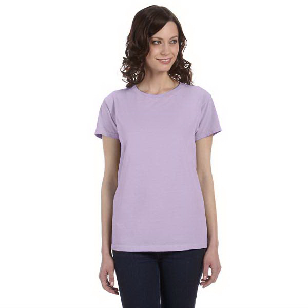 Promotional Ladies' 5.6 oz. Pigment-Dyed & Direct-Dyed Ringspun t-shirt